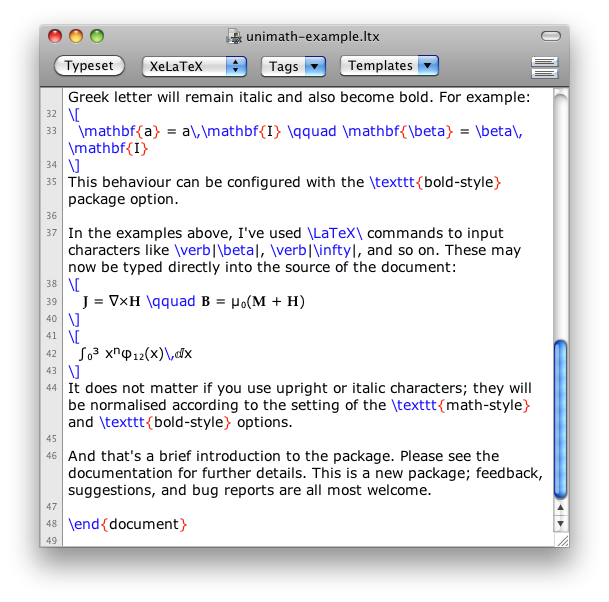 Unicode-math in a picture